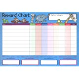A4 Reward Charts and Sticker Set - Pack Of 4