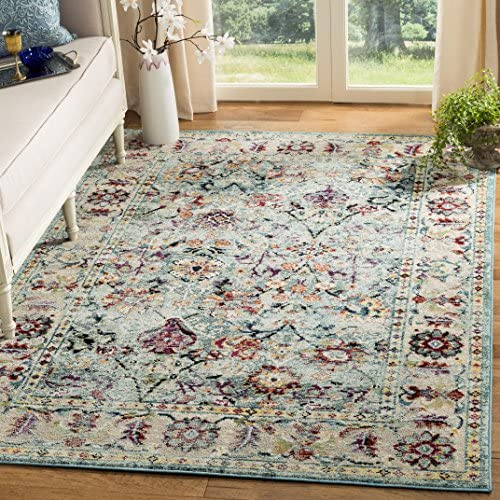 Safavieh Savannah Collection Abstract Area Rug, 8 x 10 Blue