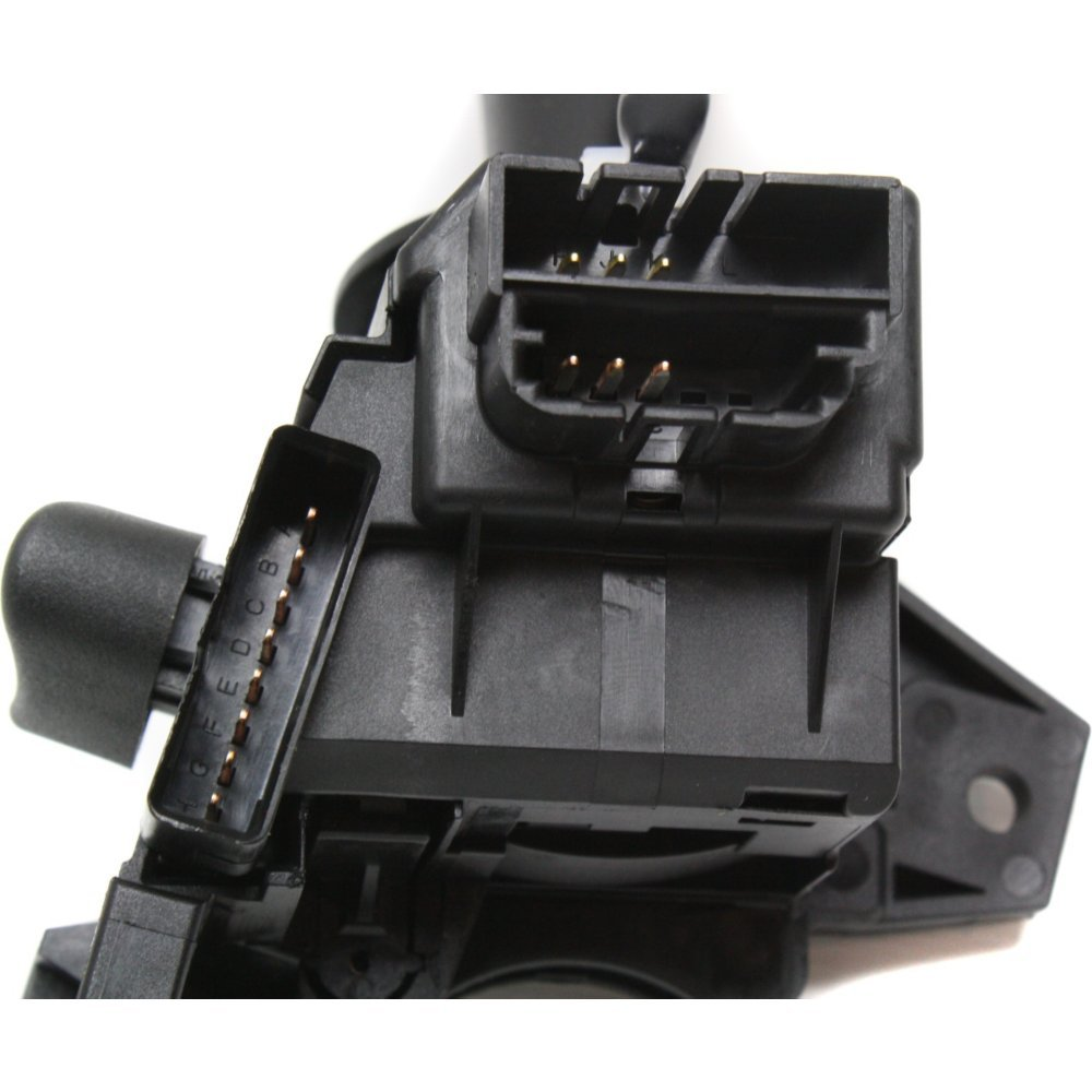 Turn Signal Switch compatible with Chevrolet Trailblazer 02-07 W// 3 Connectors 18 Male and Female Blade Type Terminals