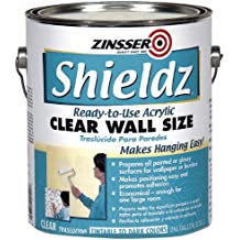 Rust-Oleum Corporation 02101 Zinsser Shieldz Wall Size, 1-Gallon, Clear