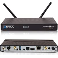 Anadol Combo 4K Combo Satellite Receiver mit DVB-S2 und DVB-C/T2 Tuner UHD 2160p H.265 HEVC E2 Linux Dual WiFi PVR Ready