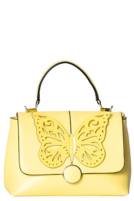 Vintage & Retro Handbags, Purses, Wallets, Bags Banned Apparel - Papilio Bag $53.99 AT vintagedancer.com