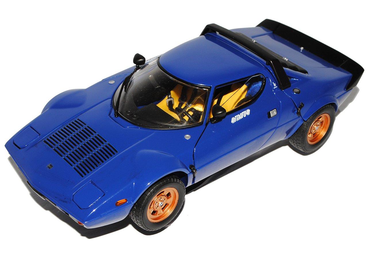 Sun Star Lancia Stratos Stradale Blau 1/18 Modell Auto