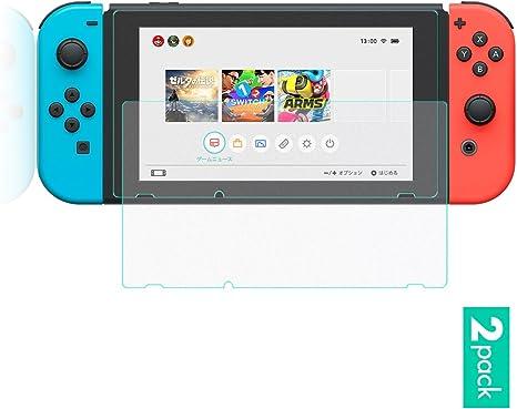 Protector de Pantalla para Nintendo Switch por Sunix (2 Pack), con Película Maté [Antibrillo, Antihuella]: Amazon.es: Videojuegos