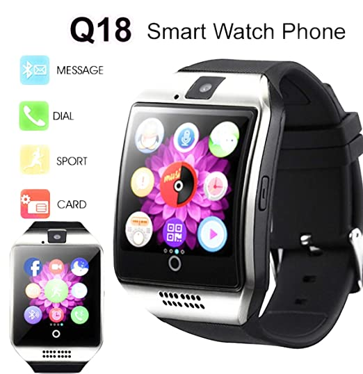 Amazon.com: Avellino Q18 Android Bluetooth Smart Watch for ...