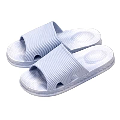 LONGYU Advanced Women's and Men's Massage Anti-Skid Dry Bathroom Slippers are Suitable for Indoor Family Residential Sandals | Slippers