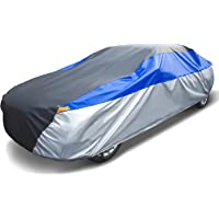 TengXiangChi 6 Layers Waterproof Car Cover All Weather for Automobiles UV Protection Dust Outdoor Full Cover with Cotton…