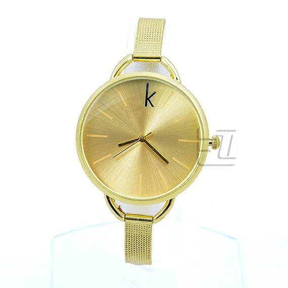 Reloj nuevo estilo con logotipo de marca C Mujeres Reloj Vestido reloj mujer reloj de pulsera