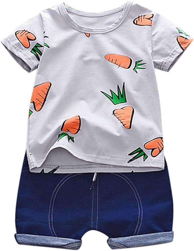 Berimaterry Conjuntos Camisa Bebé Niño, Niño Camiseta Mangas ...