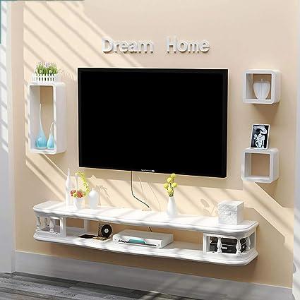 YYHSND Mobile Porta TV a Muro Porta TV a Muro Porta Dvd Rack TV ...