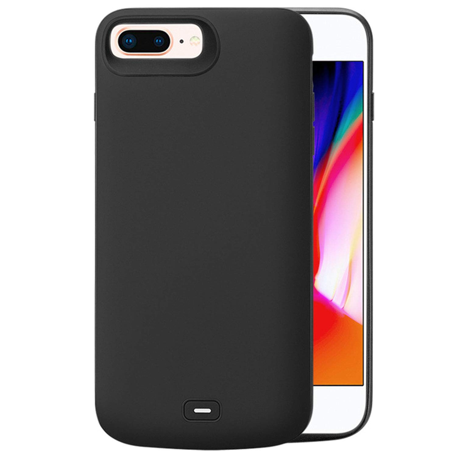 HQXHB Funda Batería para iPhone 6/6S/7/8,5500mAh Funda Cargador Portatil Batería Externa Ultra Carcasa Batería Recargable Power Bank Case para Apple ...