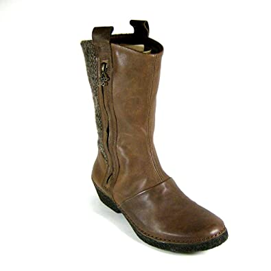 35df76a85 Po-Zu Montana Brown Women s Mid-Calf Boots  Amazon.co.uk  Shoes   Bags