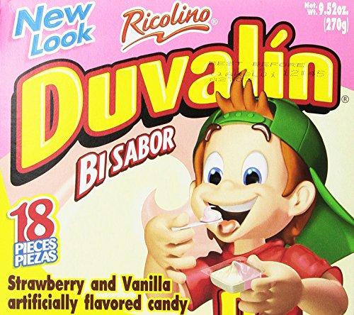 Duvalin Candy Creams Strawberry-Vanilla, - Vanilla Candy Duvalin