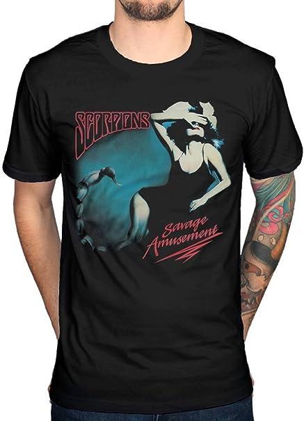 NEW /& OFFICIAL! Scorpions /'Savage Amusement/' T-Shirt