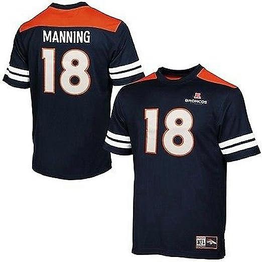 online retailer 28e1b d9f53 VF Denver Broncos Peyton Manning #18 Majestic Hashmark Jersey Mens Big &  Tall Sizes (2XT)