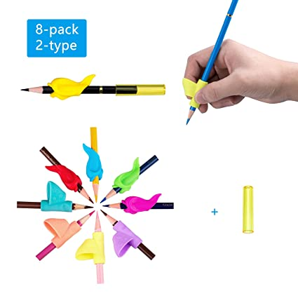 School & Educational Supplies 10pcs Preschool Children Students Hold Pens Learn Writing Corrections Writing Tools Silicone School Office Stationery Various Styles