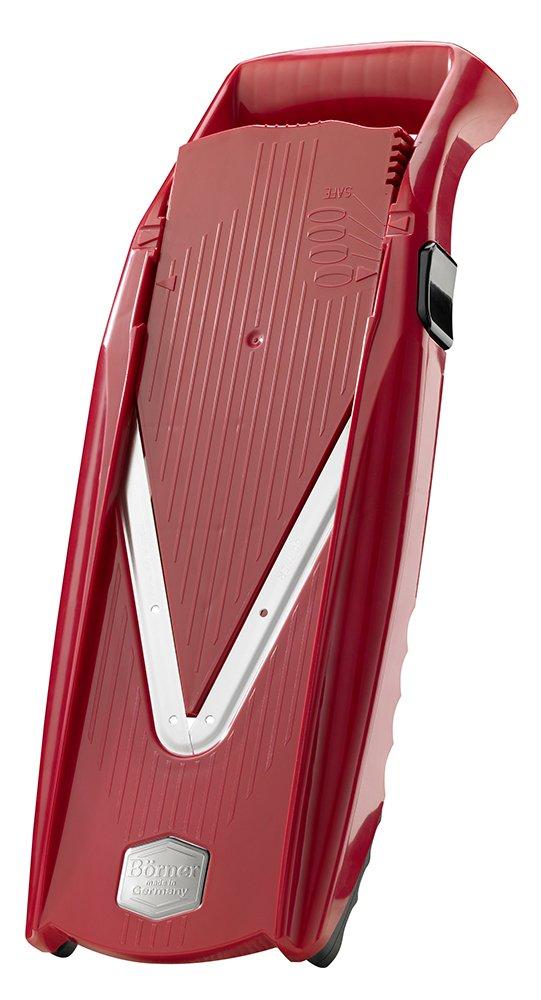 Swissmar Borner V Power Mandoline, V-7000, Red by Swissmar Borner