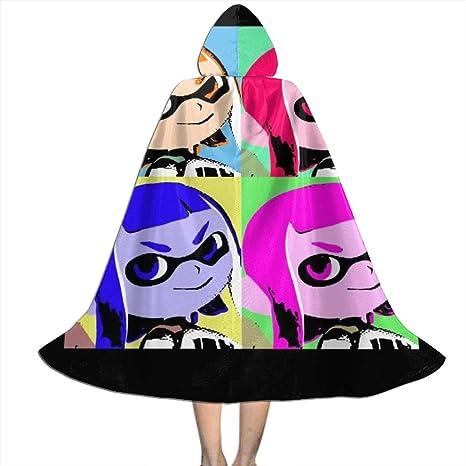 OJIPASD Splatoon Pop Art Capa con Capucha Unisex para niños, para ...