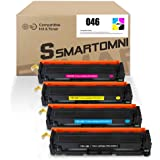 S SMARTOMNI Compatible 046 Toner Cartridge Replacement for Canon 046 CRG-046 use for Canon ImageClass MF733CDW MF731CDW MF735