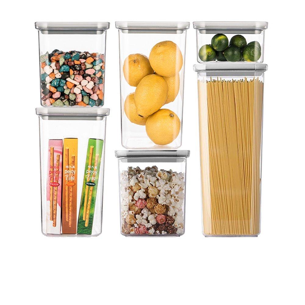 Wly&Home Dispensers, Tarro de Cereales, (Paquete con 6 Unidades ...