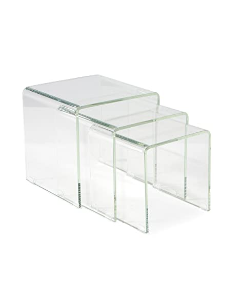 Amazon moes home collection covo glass nesting tables set of moes home collection covo glass nesting tables watchthetrailerfo