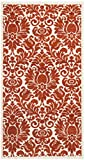 Safavieh Porcello Collection PRL3714E Red and Ivory Area Rug (2′ x 3'7″)