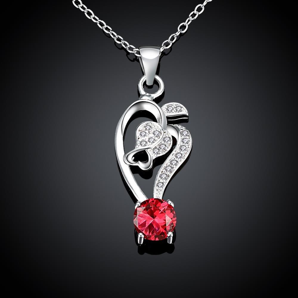 LoveDua Elegante Collar de circonita para Mujer, Chapado en Oro ...
