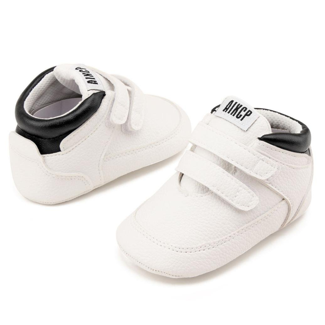 Iuhan Baby Girl Boy Soft Sole Sport Sneaker Infant Toddler Anti-Slip Warming Shoes