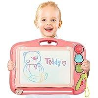 TTMOW Pizarras Mágicas Colorido con Pluma Almohadilla Borrable de Escritura y Dibujo Juguetes Educativos para niños…