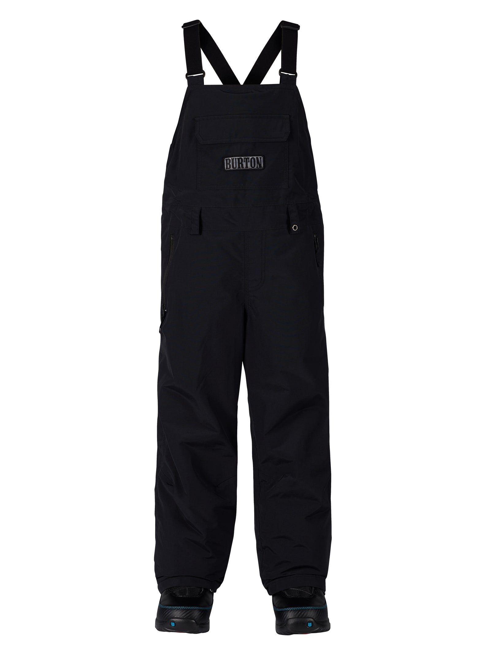 Burton Youth Skylar Bib Pant, True Black, X-Small by Burton
