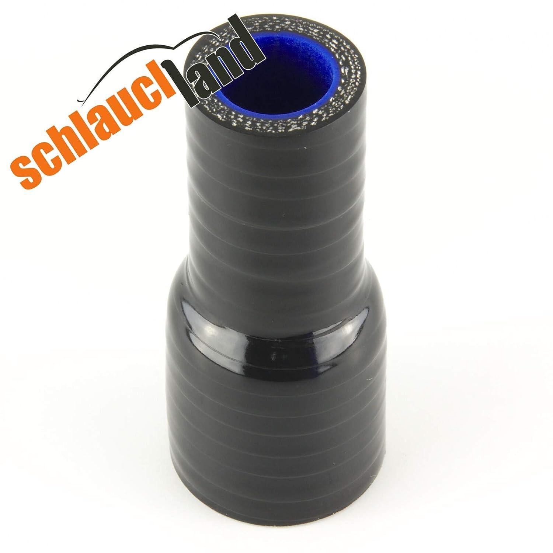 Silikon-Reduzierst/ück ID 34-19mm schwarz*** Silikonschlauch Reduzierer Silikon Reduzierung LLK