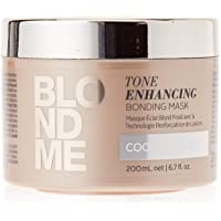 BLONDEME Tone Enhancing Bonding Mask for Cool Blondes, 6.76-Ounce