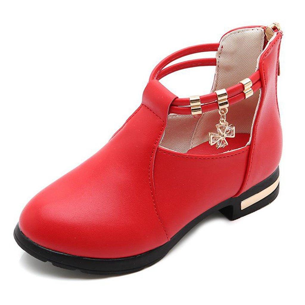 GIY Kids Mary Jane Girls School Uniform Slip-On Comfort Soft PU Dress Ballerina Flats Oxfords Shoes
