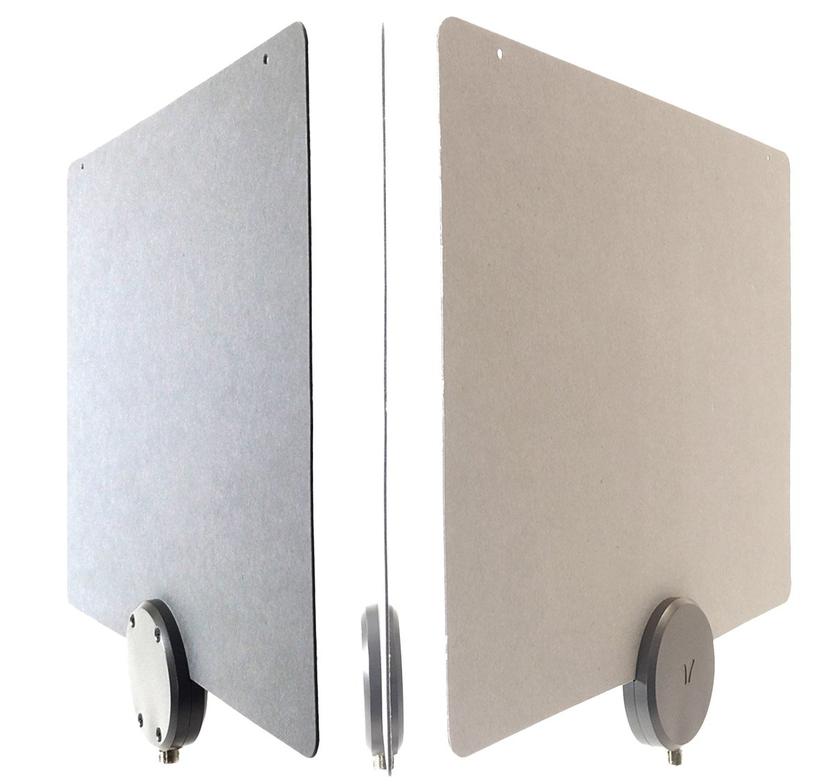 Mohu ReLeaf Indoor TV Antenna, Made with Recycled Materials, 4K-Ready HDTV, 30 Mile Range