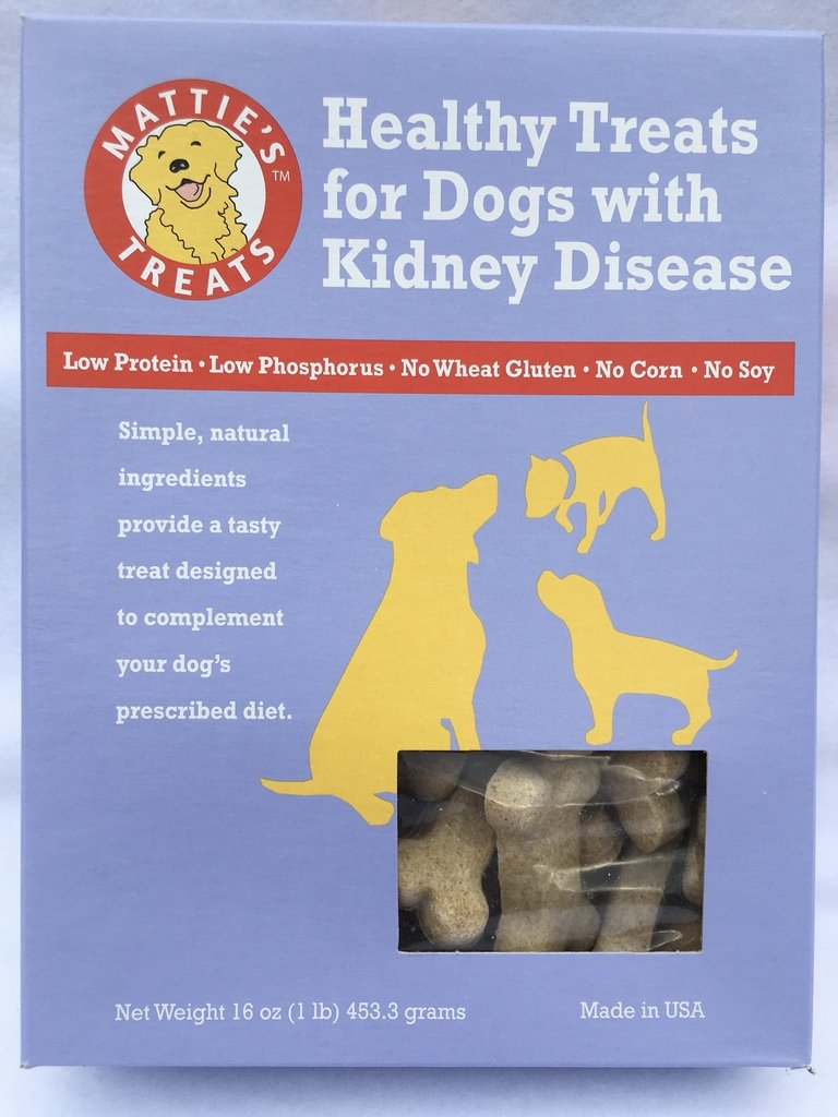 Mattie's healthy treats for dogs with kidney disease 16 oz(1 lb)