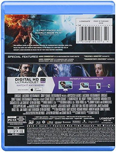 I, Frankenstein [Blu-Ray 3D & 2D + DVD + Digital HD Ultaviolet]