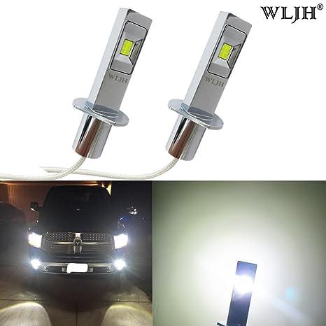 wljh Newest Super brillante Blanco Auto bombillas LED para el coche interior Dome Mapa señal de