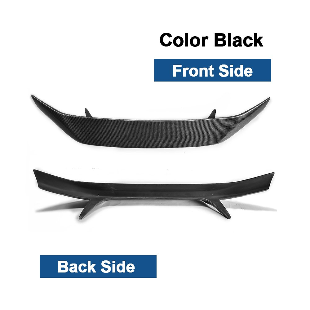 TGFOF Fits BRZ 2013-2017 GT86 2012-2017 Scion FR-S 2012-2017 Carbon Fiber Rear Boot Trunk Spoiler Lid Wing Lip