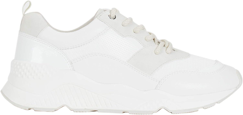 Parfois - Zapatillas con Maxi Suela Online Exclusive - Mujeres - Tallas 38 - Blanco 1: Amazon.es: Zapatos y complementos