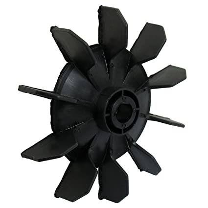SODIAL(R) Air Compressor Part Black Plastic 14mm Inner Dia. Ten Vanes Motor Fan Blade - - Amazon.com