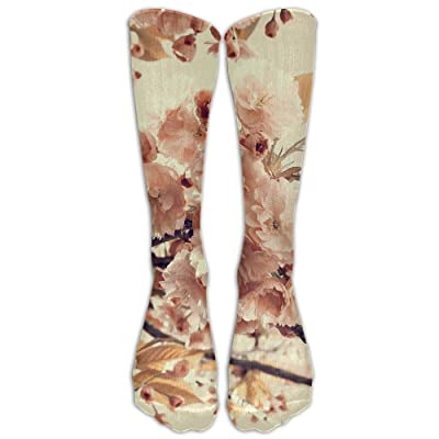 High Boots Crew Tree Flowers Compression Socks Comfortable Long Dress For Men Women