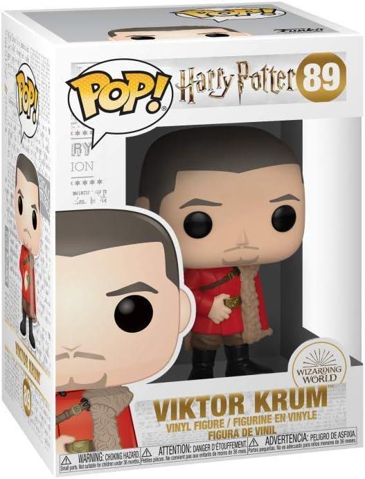 Funko- Pop Figura de Vinilo: Harry Potter S7-Viktor Krum (Yule ...