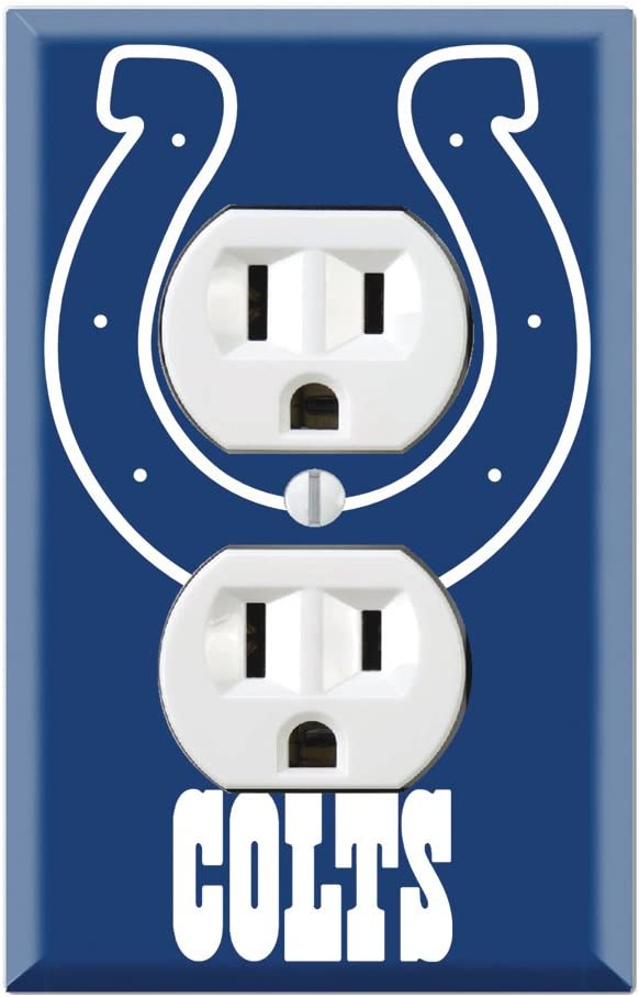 Duplex Wall Outlet Plate Decor Wallplate - Colts