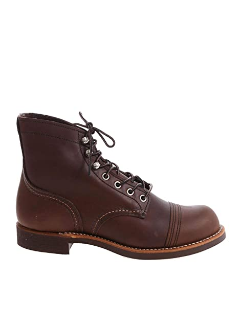 Red Wing Hombre RW8111BROWN Marrón Cuero Botines: Amazon.es: Zapatos y complementos