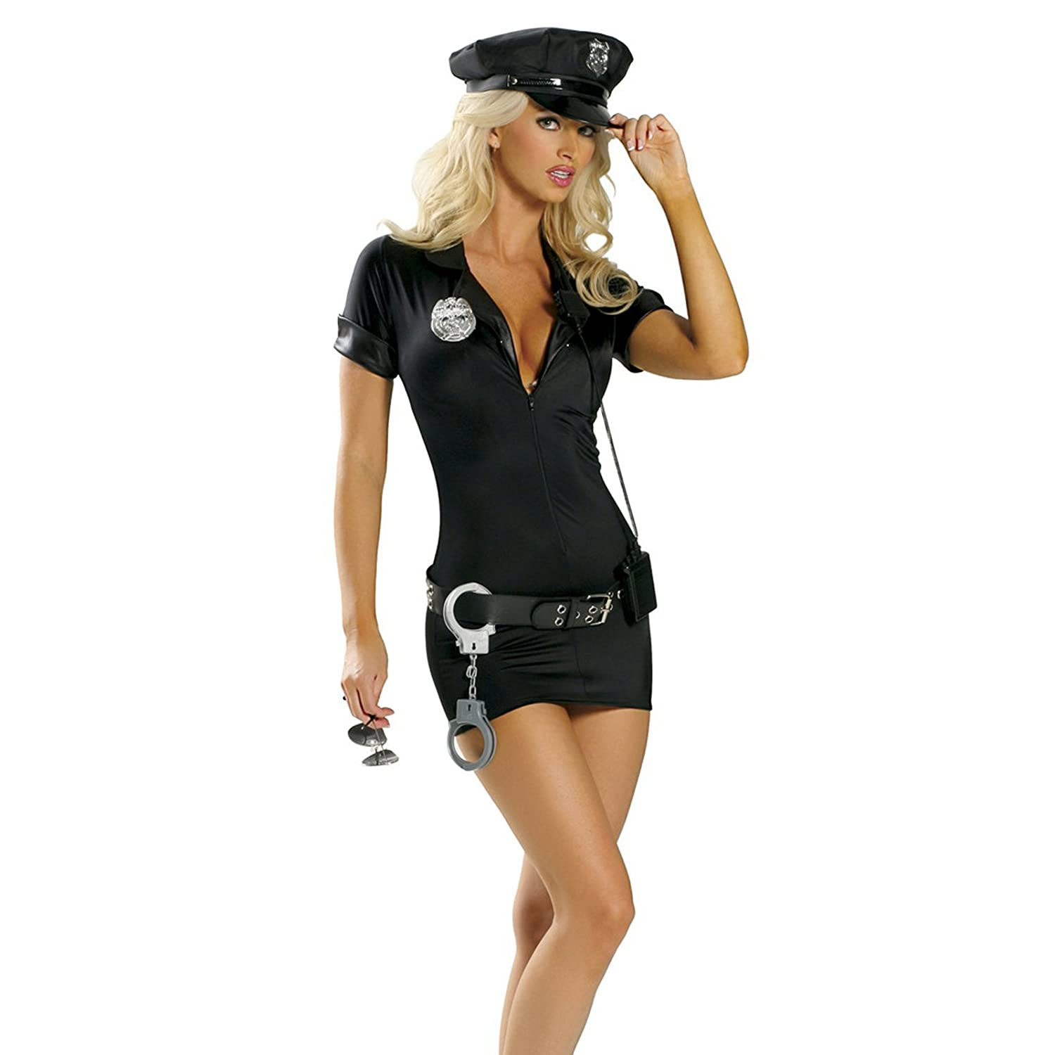 Adult Ladies Police Woman Hat Hen Party Fancy Dress Costume Accessory One Size