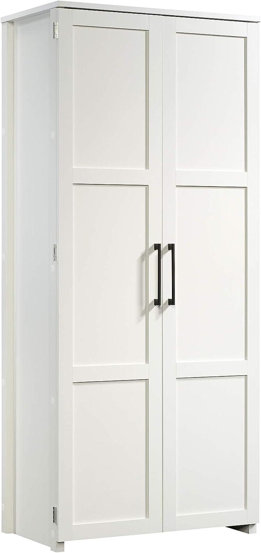 Sauder 424001 Homeplus Storage Cabinet, Soft White Finish