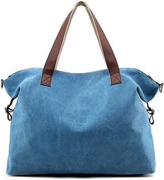 Amazon.es: Lona Shoppers y bolsos de hombro Bolsos para