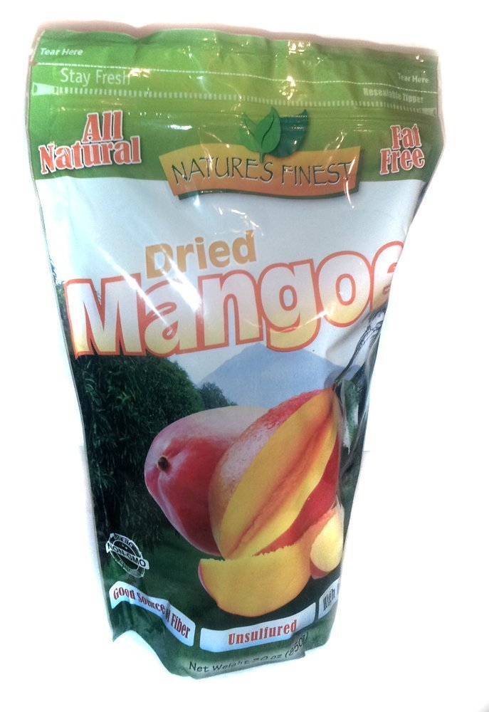 Nature's Finest Dried Mangoes (2 Pack)