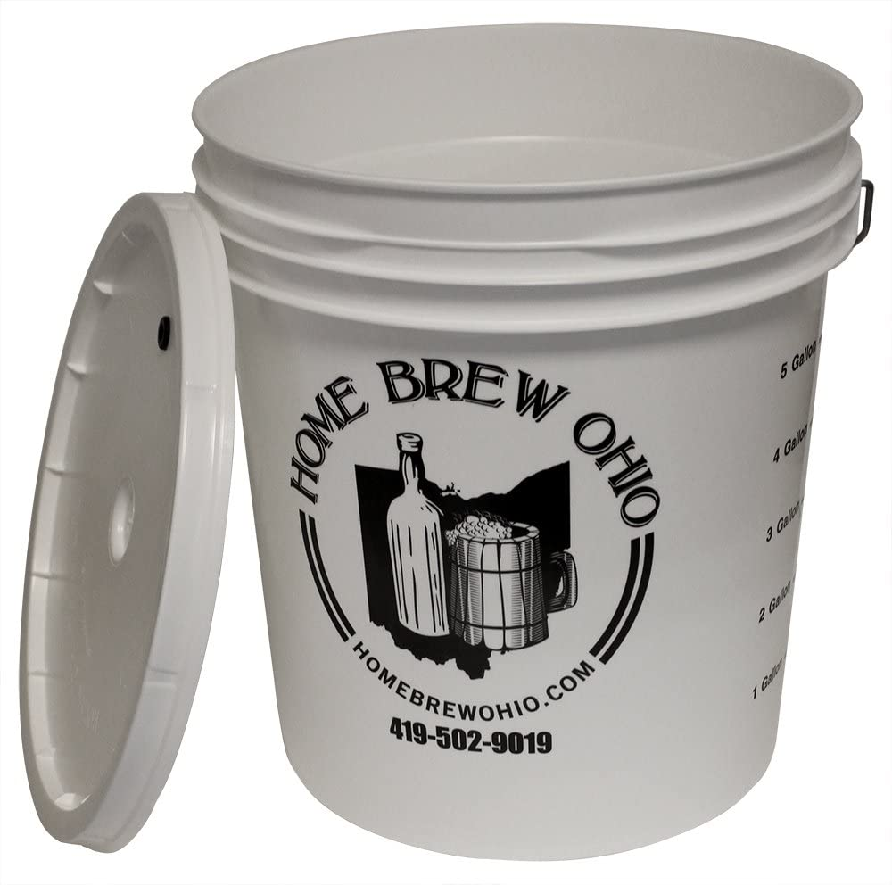 Midwest Homebrewing and Winemaking Supplies 7.9 gallon Plastic Fermentor with Lid