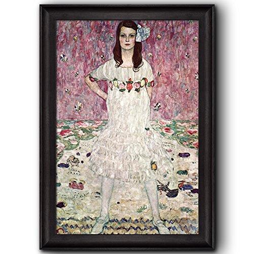 Eugenia Primavesi by Gustav Klimt Framed Art